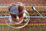 Black tea - the symbol of Turkish sociability